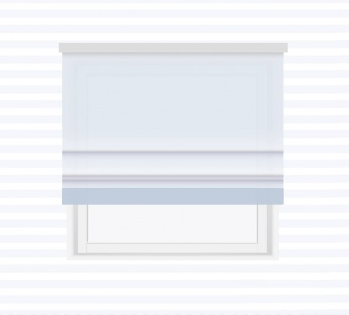 Roman blind with cuff - for individual order