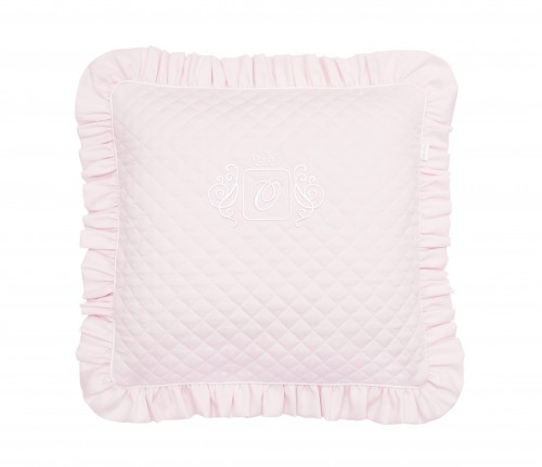 Quilted Royal Baby Poudre pillow