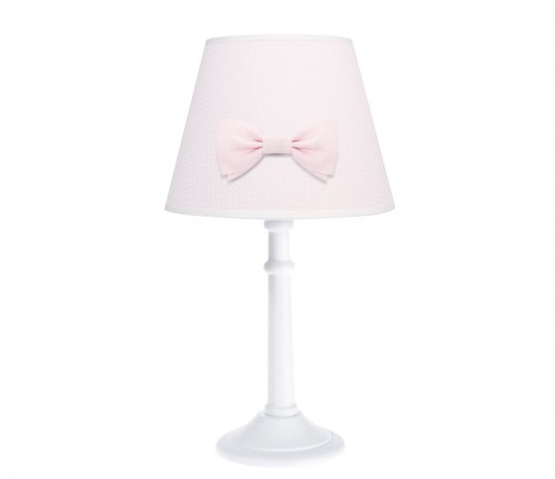 Poeme lamp - Cheverny Pink with bow