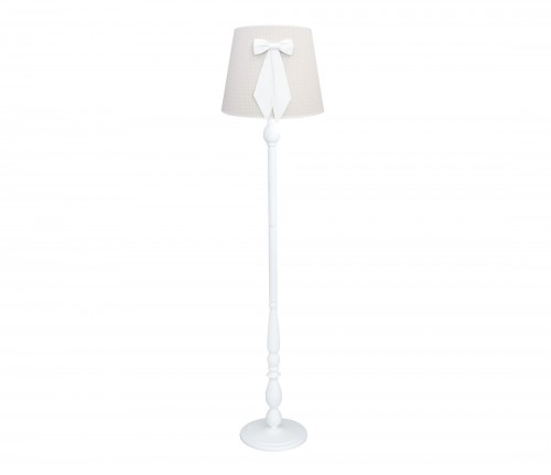 Liv floor lamp - Cheverny Beige with bow
