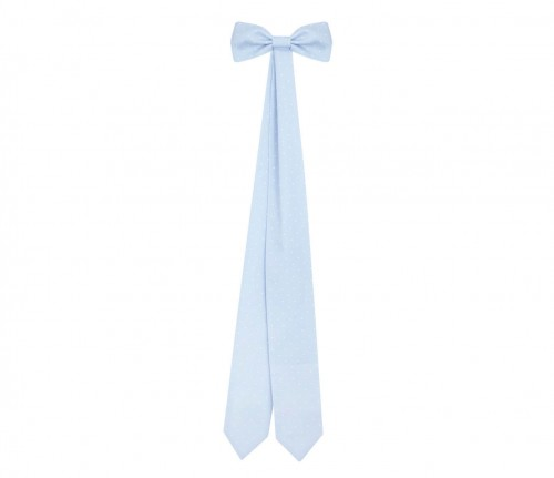 Decorative bow - Twilly Dots Blue